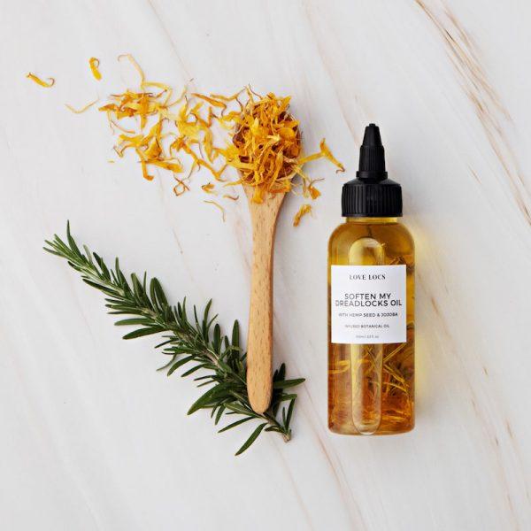 Love Locs Natural Softening dreadlock Oil hemp